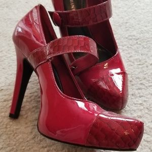 Gianni Red Mary Jane's